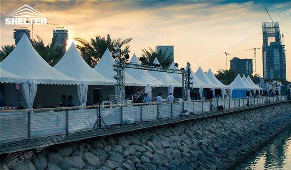 ramadan tent - High peak Gazebo canopy - wedding reception - destination wedding - hotel wedding ceremony - Shelter aluminum structures for slae (32)