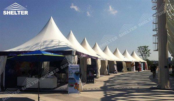 gazebo for sale - High peak Gazebo canopy - wedding reception - destination wedding - hotel wedding ceremony - Shelter aluminum structures for slae (48)