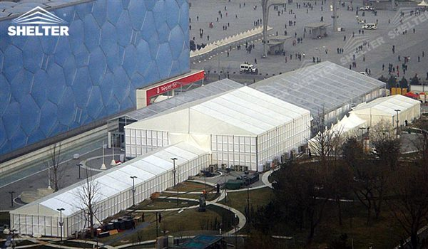 outdoor event tent - marquee for large scale exhibitions - tent canopy for expositions - trade show tents - canvas for fair - Shelter aluminum structures for sale (39)