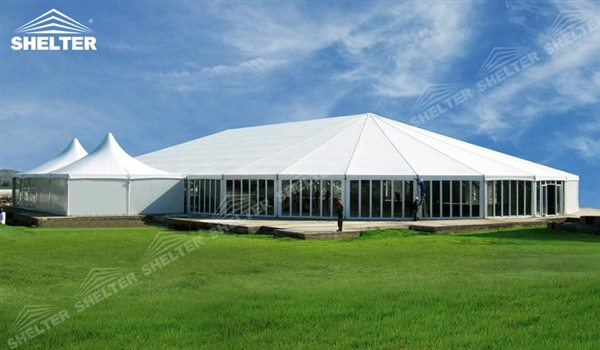 white wedding tent - mixed-party-tents-multi-shapes-marquee-bellend-canvas-large-wedding-marquees-6-side-bellend-tent-8-side-bellend-tents-12-side-bellend-marquees-shelter-aluminum-structures-for-sale-21