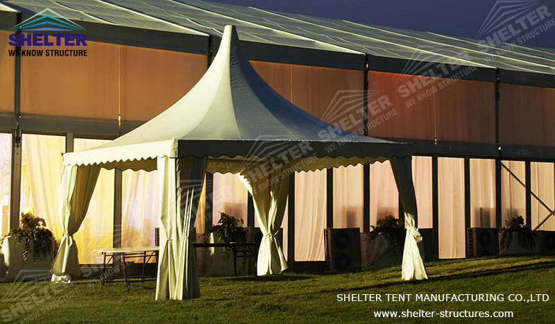 pagoda tents -gazebo tents-high peak marquee-shelter tent-13
