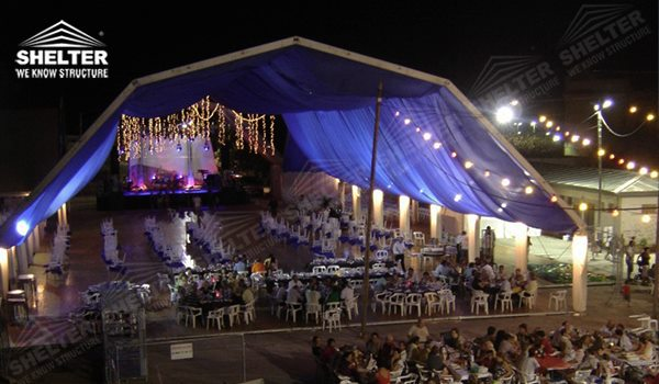 20 30m Curved Tent For Sale Small Catering Sales In Asia