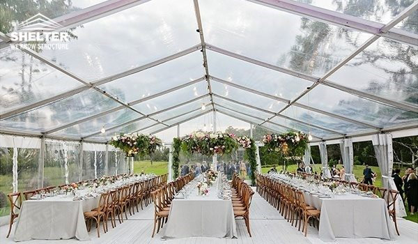 clear roof tent - seaside wedding - beach ceremony - pool side party - wedding marquee - pavilion for luxury wedding ceremony - canopy for outdoor party - wedding on seaside - in hotel - Shelter aluminum structures for sale 0210