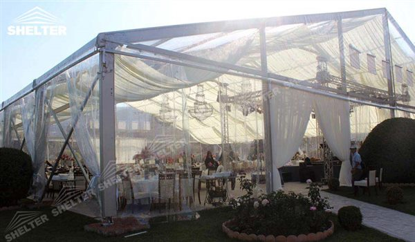 Transparent Tents Wedding Marquee Pavilion For Luxury Wedding