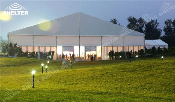 tents for weddings - wedding marquee - pavilion for luxury wedding ceremony - canopy for outdoor party - wedding on seaside - in hotel - Shelter aluminum structures for sale (215)