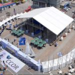 events marquee - marquee for social events - large exhibition tents - tent canopy for exposition - musical festival pavilion - canvas for fari carnival (9)