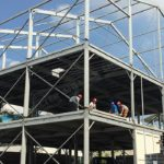 triple tent - triple decker tents - three 3 floor marquee - double floor canopy - double deck or two deck pavilions (200216)