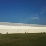 Temporary Storage Tent - temporary warehouse structure - storage building - semi permanent workshop - tent for car maintanence - Shelter aluminum tent structures for sale 1111