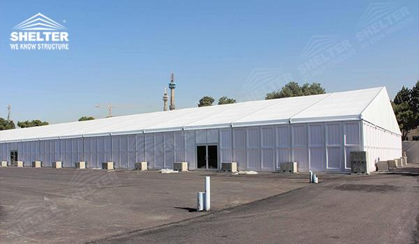 Permanent Outdoor Structure Shelter : M temporary storage tent for sale warehouse