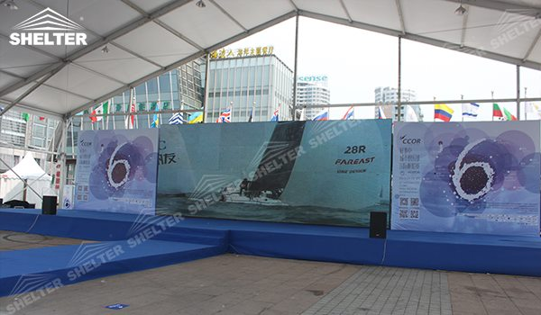 tent structure - 2007 oracle events - marquee for social events - large exhibition tents - tent canopy for exposition - musical festival pavilion - canvas for fari carnival (1c