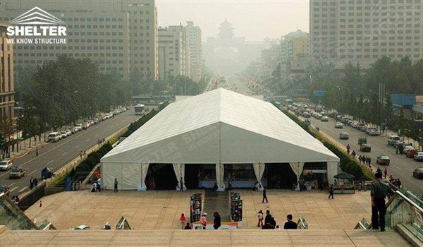 commercial tent - marquee for large scale exhibitions - tent canopy for expositions - trade show tents - canvas for fair - Shelter aluminum structures for sale (111)