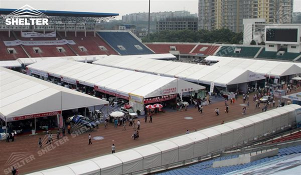 tent for event - marquee for large scale exhibitions - tent canopy for expositions - trade show tents - canvas for fair - Shelter aluminum structures for sale (32)