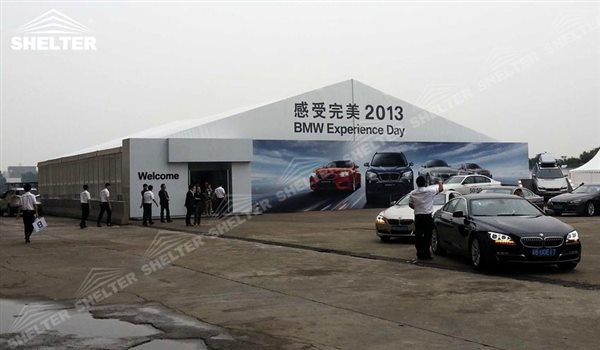 event marquee - marquee for large scale exhibitions - tent canopy for expositions - trade show ... & Event Marquee for BMW Car Show| Aluminum Marquee with White Canvas
