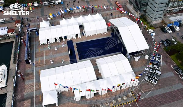 tent structure - marquee for social events - large exhibition tents - tent canopy for exposition - musical festival pavilion - canvas for fari carnival (19)