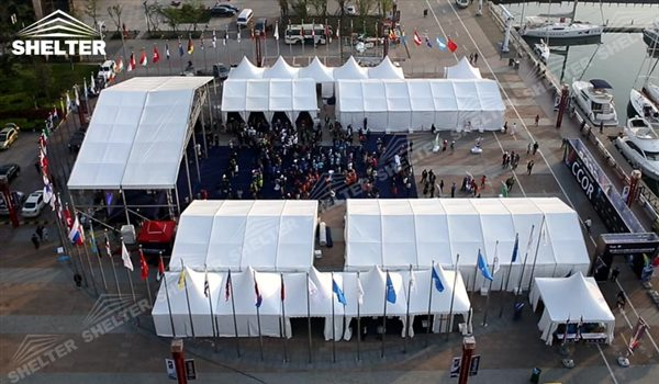 tent structure - marquee for social events - large exhibition tents - tent canopy for exposition - musical festival pavilion - canvas for fari carnival (21)