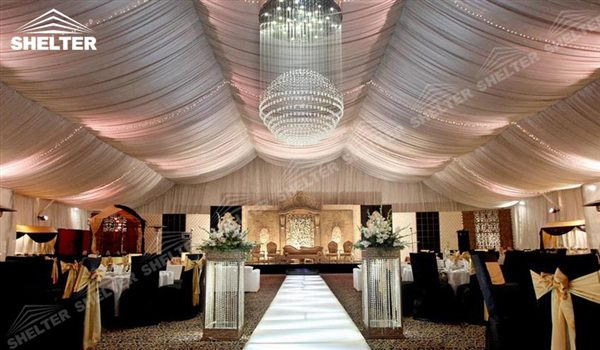 15x30m Tent For Wedding Reception Marriage Canopy White Canvas Tent