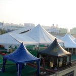 marquee tents - Shelter roof top tent display area(
