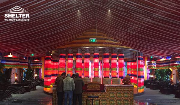 mixed party tent - mixed party tents - multi shapes marquee - bellend canvas - large wedding marquees - 6 side bellend tent - 8 side bellend tents - 12 side bellend marquees - Shelter aluminum structures for sale (70154)_Jc