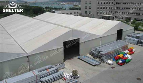 65x180m Aluminum Industrial Tents For Rapid Response Warehouse