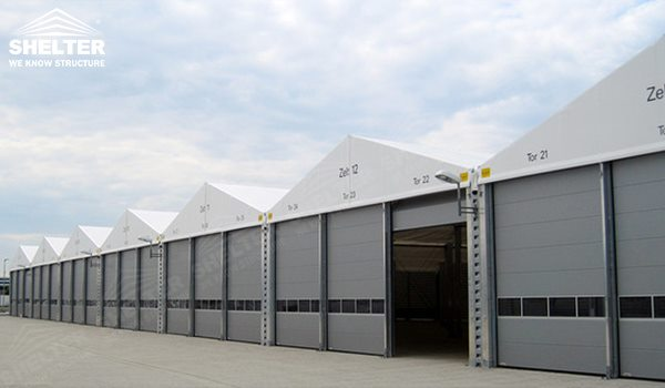 Temporary Storage Tent with Sandwich Panel for Industrial Warehouse
