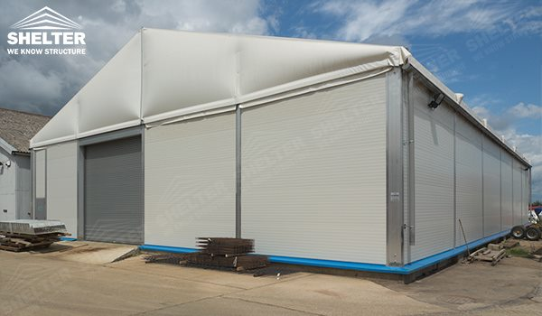 ... temporary storage - temporary warehouse structure - storage building - semi permanent workshop - tent for & Temporary Storage Tent with Sandwich Panel for Industrial Warehouse