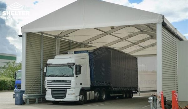 ... warehouse tents - temporary warehouse structure - storage building - semi permanent workshop - tent for ... & Aluminum Warehouse Tents for Sale as Loading Bay Cover| Tent ...