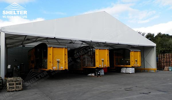warehouse tents - temporary warehouse structure - storage building - semi permanent workshop - tent for car maintanence - Shelter aluminum tent structures for sale 2 (172)