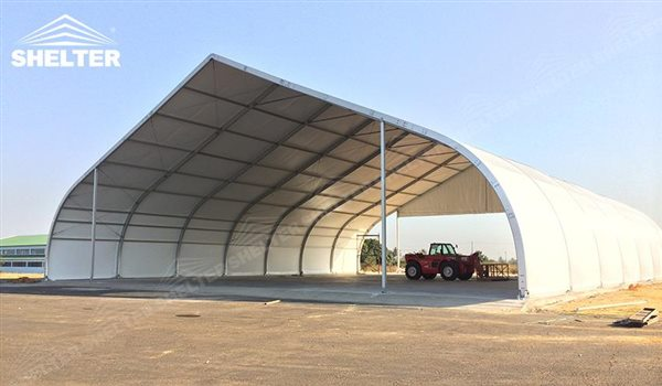 Aircarft hangar sales in asia shelter tent manufacturer for Semi permanent tent