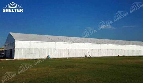 warehouse tent - temporary warehouse structure - storage building - semi permanent workshop - tent for car maintanence - Shelter aluminum tent structures for sale 2 (64)
