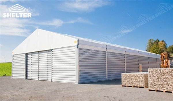 Temporary Warehouse Building - Aluminum Clear Span Tent Structure