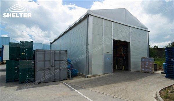 temporary warehouse structure u2013 storage building u2013 semi permanent workshop u2013 tent for car maintanence u2013 Shelter aluminum tent structures for sale 2 (74) & temporary warehouse structure - storage building - semi permanent ...
