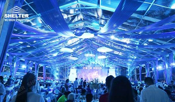 outdoor wedding venue - wedding marquee - pavilion for luxury wedding ceremony - canopy for outdoor party - wedding on seaside - in hotel - Shelter aluminum structures for sale (8110245)_Jc