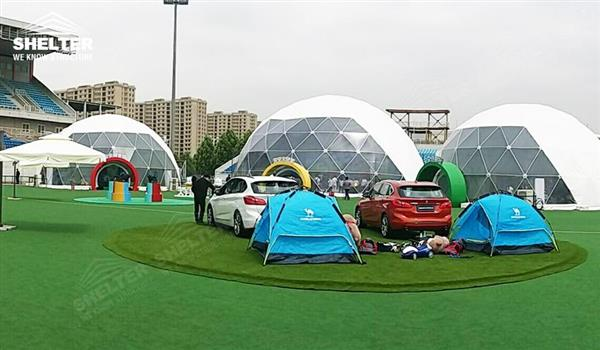 geodesic domes - dome tent - geodesic dome - wedding dome - geodesic dome tent - sports dome - igloo tents - geo dome for promotion - Shelter aluminum marquee for sale (128)