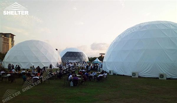 geo dome tents - geodesic dome - wedding dome - geodesic dome tent - sports dome - igloo tents - geo dome for promotion - Shelter aluminum marquee for sale (165)