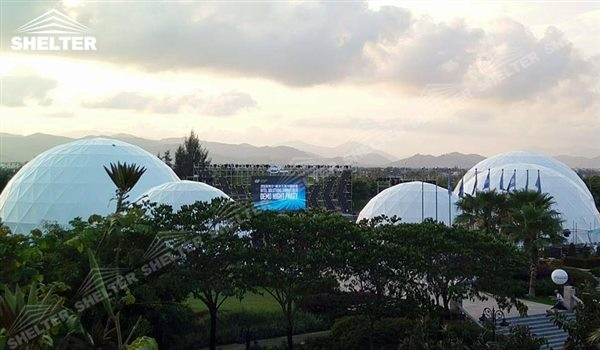 geo dome tents - dome tent - geodesic dome - wedding dome - geodesic dome tent - sports dome - igloo tents - geo dome for promotion - Shelter aluminum marquee for sale (180)